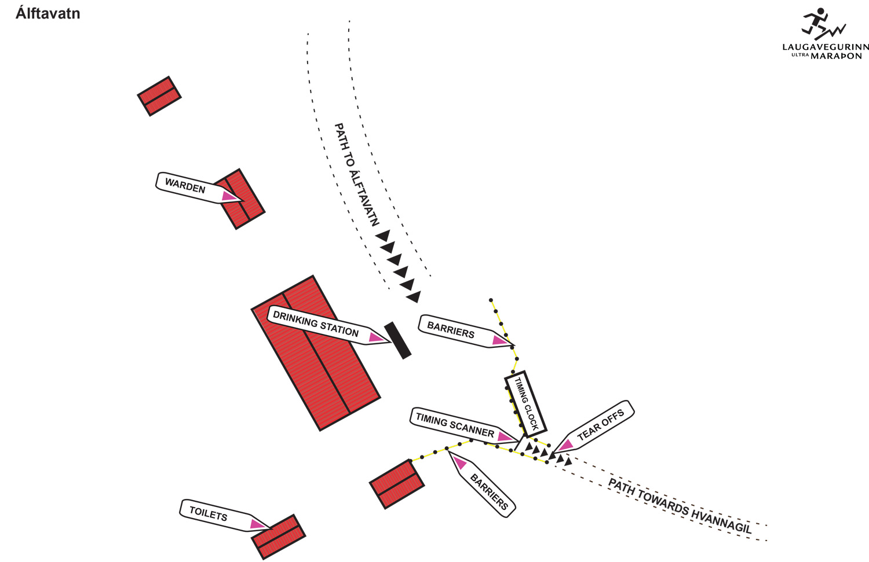 Álftavatn layout
